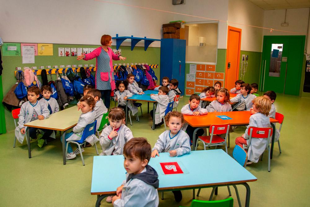 Classe d'educació infantil I3